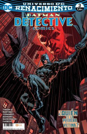 Portada de Batman: Detective Comics Nº 03 (renacimiento)