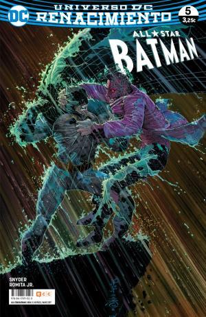 Portada de All-star Batman Num. 05 (renacimiento)