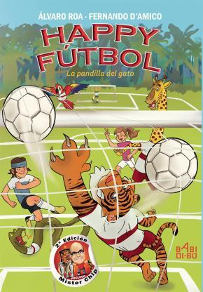 Portada de Happy Futbol, La Pandilla Del Gato (2ª Ed.)