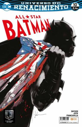 Portada de All-star Batman Nº 10 (renacimiento)