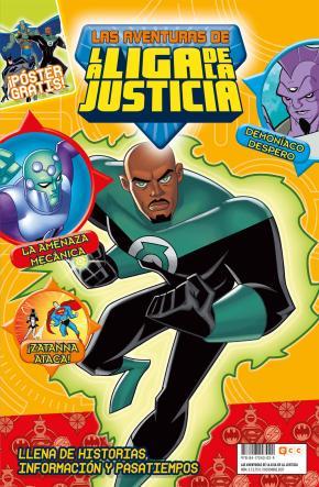 Portada de Las Aventuras De La Liga De La Justicia Nº 02
