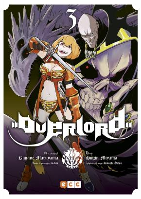 Portada de Overlord Nº 03