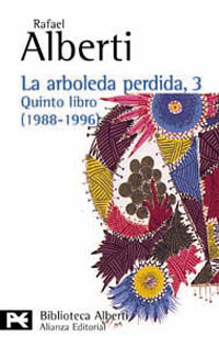 Portada de La Arboleda Perdida, 3:  Quinto Libro (1988-1996)