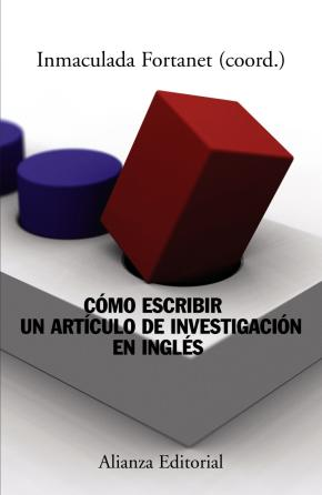Portada de Como Escribir Un Articulo De Investigacion En Ingles