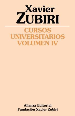 Portada de Cursos Universitarios (vol. Iv) (1934-1935)