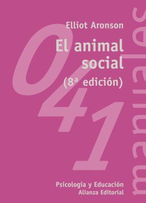 Portada de El Animal Social (8ª Ed.)