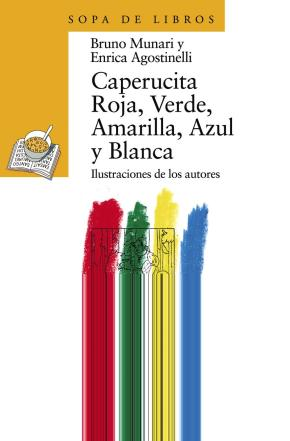 Portada de Caperucita Roja, Verde, Amarilla, Azul Y Blanca