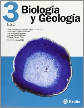 Portada de Biologia Y Geologia 3 Eso Conocer