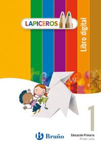 Portada de Lapiceros Libro Digital 1  (1º Primaria)