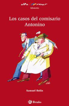 Portada de Los Casos Del Comisario Antonio (altamar)