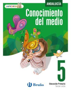 Portada de Lapiceros Conocimiento Del Medio 5 Andalucia (5º Primaria)
