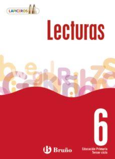 Portada de Lapiceros Lecturas 6  (6º Primaria)