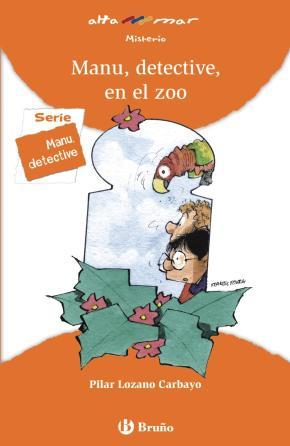 Portada de Manu, Detective, En El Zoo