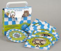 Portada de El Zoo De Los Minicuentos En Ingles (incluye Audio-cd) (ed. Bilin Gue Español-ingles)