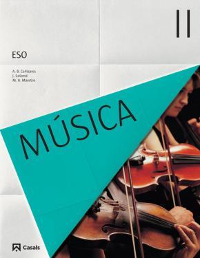 Portada de Musica Ii Esp 3º Eso Castellano (ed 2015) Ciclo 2
