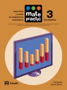 Portada de Matematicas Eso Cuaderno Matepractic Nº 3 Mec (ed 2015)