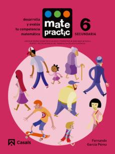 Portada de Matematicas Eso Cuaderno Matepractic Nº 6 Mec (ed 2015)