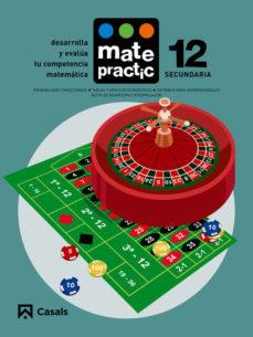Portada de Matematicas Eso Cuaderno Matepractic Nº 12 Mec (ed 2015)