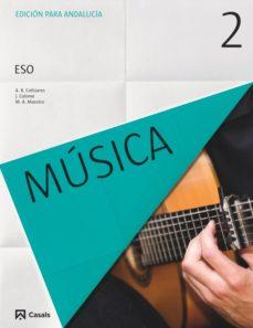Portada de Musica 3º Eso Andalucia