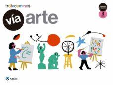 Portada de Via Arte 4 Años Talleres Y Rincones Trotacaminos Educacion Infantil Carpeta Castellano Mec