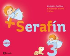 Portada de Serafin + 3 Años Educacion Infantil Cuaderno Castellano Mec