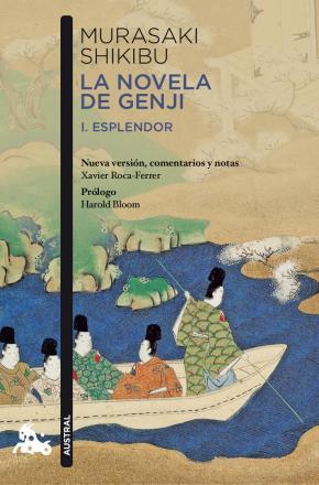 Portada de La Novela De Genji: I.esplendor/ii.catastrofe (edicion Especial 2 Volumenes)