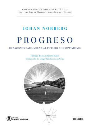 Portada de Progreso: 10 Razones Para Mirar Al Futuro Con Optimismo