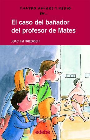Portada de El Caso Del Bañador Del Profesor De Mates