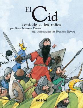 Portada de El Cid Contado A Los Niños