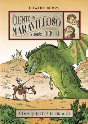 Portada de Don Quijote Y El Dragon