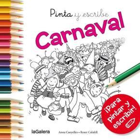 Portada de Pinta Y Escribe Carnaval