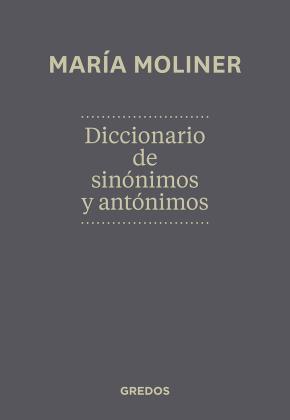 Portada de Diccionario De Sinonimos Y Antonimos