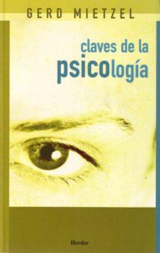 Portada de Claves De La Psicologia