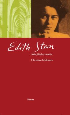Portada de Edith Stein: Judia Filosofa Y Carmelita