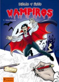 Portada de Dibujo Y Pinto Vampiros