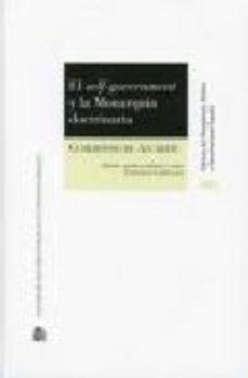 Portada de El Self Government Y La Monarquia Doctrinaria