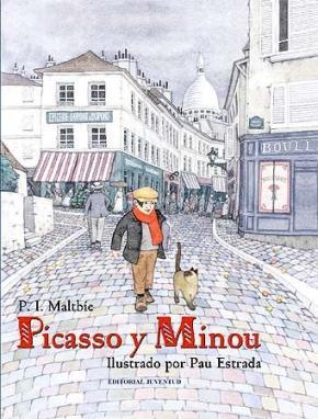 Portada de Picasso Y Minou (2ª Ed)