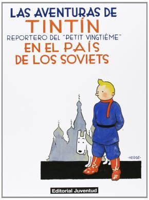 Portada de Tintin En El Pais De Los Soviets.