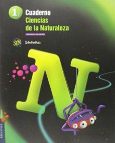 Portada de Cuaderno Ciencias De La Naturaleza 1.º  Madrid Primaria Proyecto Superpixepolis