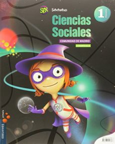 Portada de Ciencias Sociales 1º  Cuadricula Primaria Proyecto Superpixepolis   Madrid