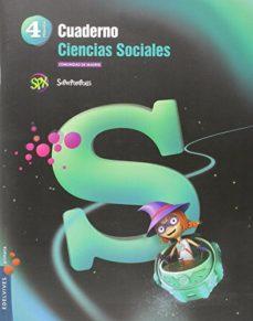Portada de Cuaderno Ciencias Sociales 4º Educacion Primaria Madrid Superpixepolis