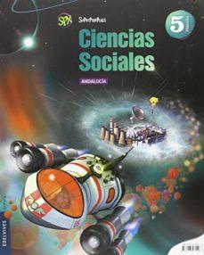 Portada de Ciencias Sociales 5º Primaria Proyecto Superpixepolis Andalucia