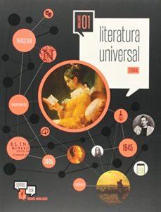 Portada de Literatura Universal 1º Bachillerato Pack  (vol 1 Teoria Vol 2 Practica) Somoslink
