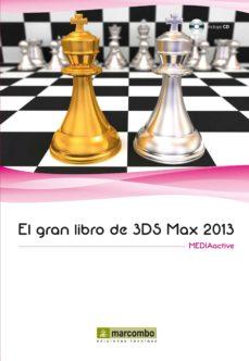 Portada de El Gran Libro De 3ds Max 2013