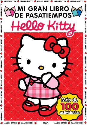 Portada de Mi Gran Libro De Pasatiempos Hello Kitty