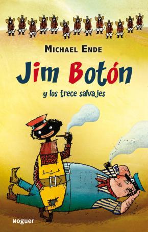 Portada de Jim Boton Y Los Trece Salvajes