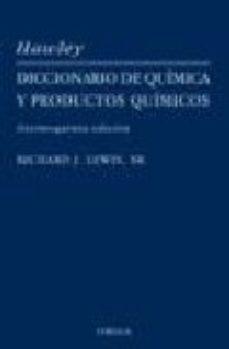 Portada de Diccionario De Quimica I Productos Quimicos Hawley