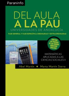 Portada de Del Aula A La Pau (andalucia) Matematicas Aplicadas A Las Ciencia S Sociales Ii