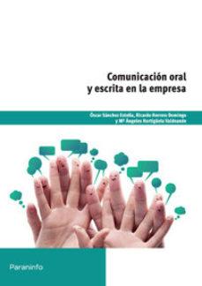 Portada de Comunicacion Oral Y Escrita En La Empresa