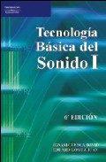 Portada de Tecnologia Basica Del Sonido 1 (6ª Ed.)